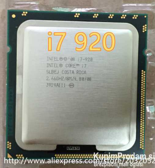 Procesor Intel Core i7 920,socket 1366